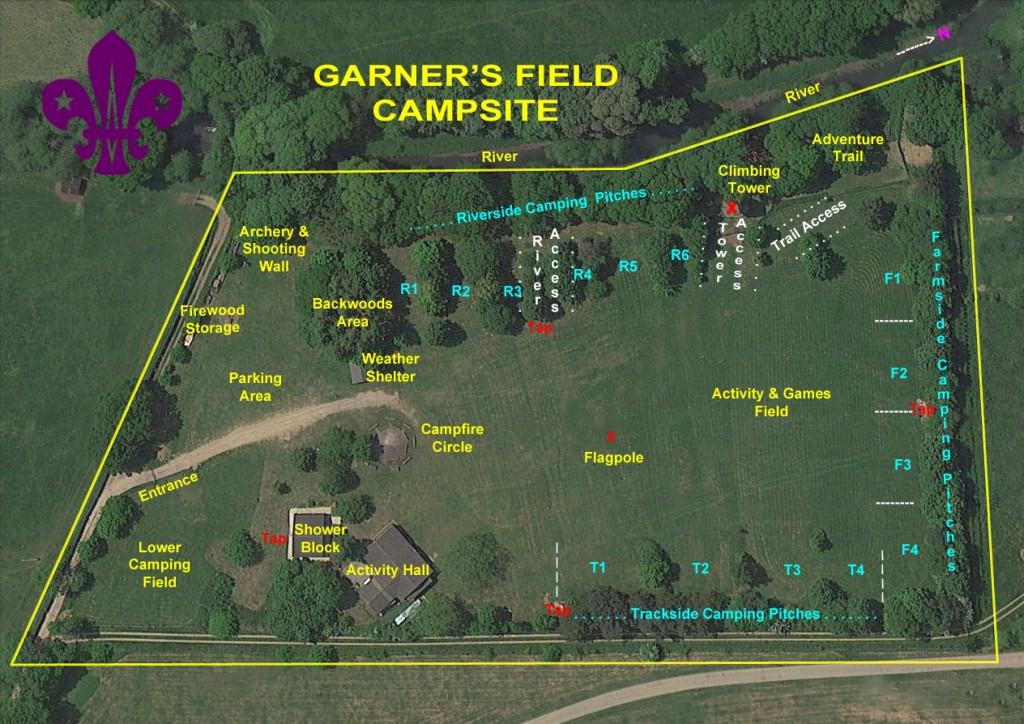Garners Field Campsite 2015