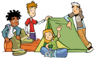 Kids in camp